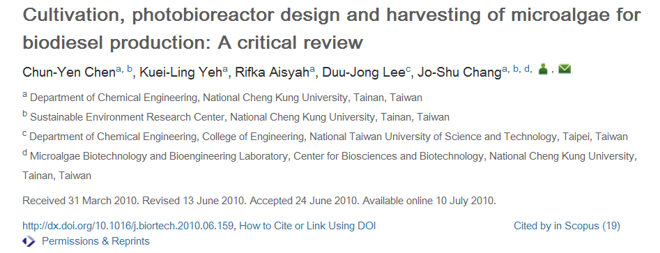 Cultivation, photobioreactor design and harvesting of microalgae for biodiesel production