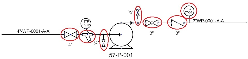 schematic symbol legend integrated circuit layout