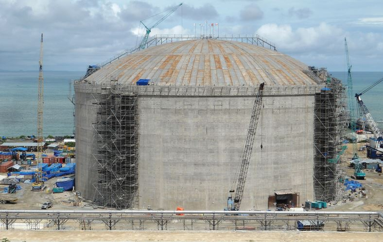 LNG Storage Tank at Donggi Senoro LNG is an example of Full Containment Storage Tank